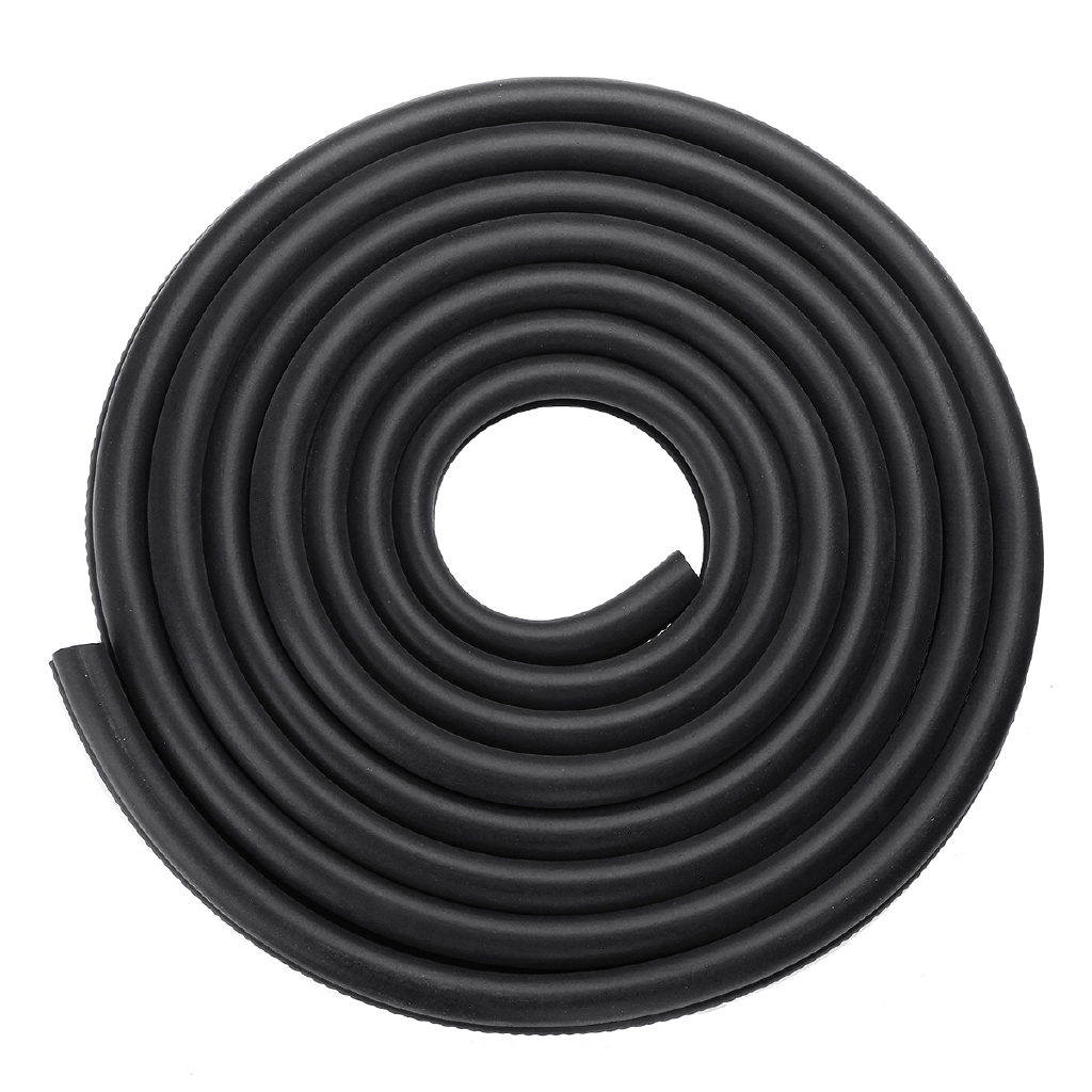 SHOUSE Car Door Edge Protector Trim 4.6m Top Quality Black U Shape Guard
