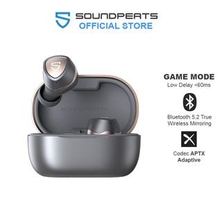 Tai nghe True Wireless Earbuds SoundPEATS Sonic Mirroring Bluetooth V5.2 APTX Adaptive - Hàng chính hãng