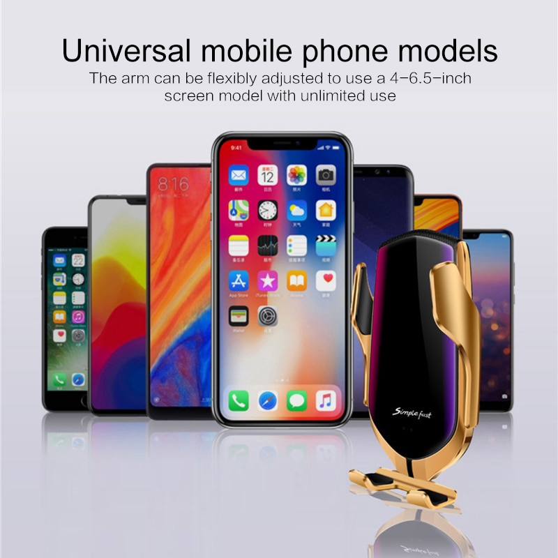 Đế sạc điện thoại không dây chuẩn QI 10W chất lượng cao tiện dụng