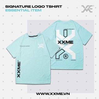 [Mã FASHION15K hoàn 15K xu đơn 99K] Áo thun SIGNATURE màu xanh XXME thumbnail