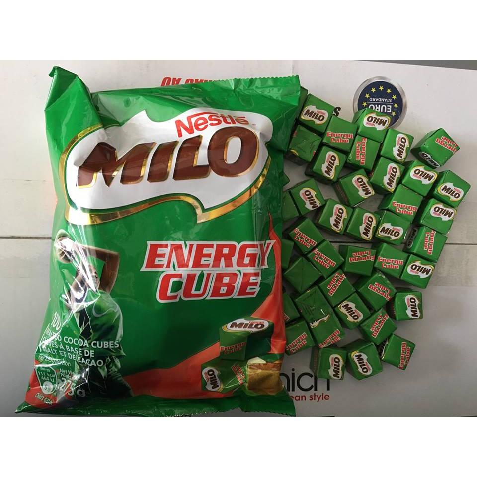 Kẹo Milo Cube 100 viên – Hàng xách tay Thái Lan