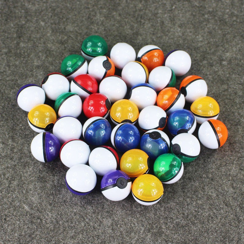 36 sets of Pokemon balls