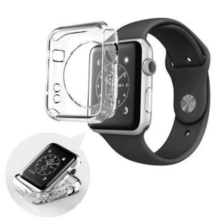 [Mã ELORDER5 giảm 10k đơn 20k] Ốp bảo vệ Apple watch nhựa trong suốt dùng cho tất cả series