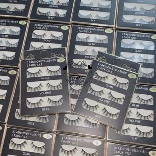 Mi giả 3D lông chồn mã 09 - lẻ 40k 1 hộp , combo 3 hộp 100k-3