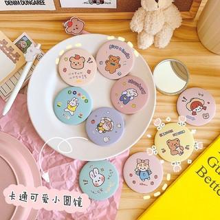 FREE SHIP Gương trang điểm cầm tay mini bỏ túi cô gái Nhật Bản 3