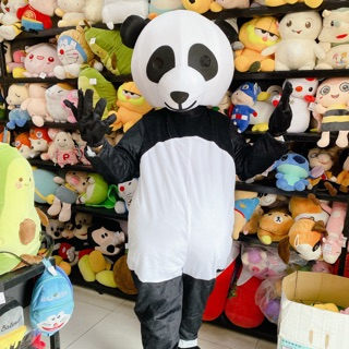 MASCOT TRANG PHỤC HOÁ TRANG GẤU PANDA