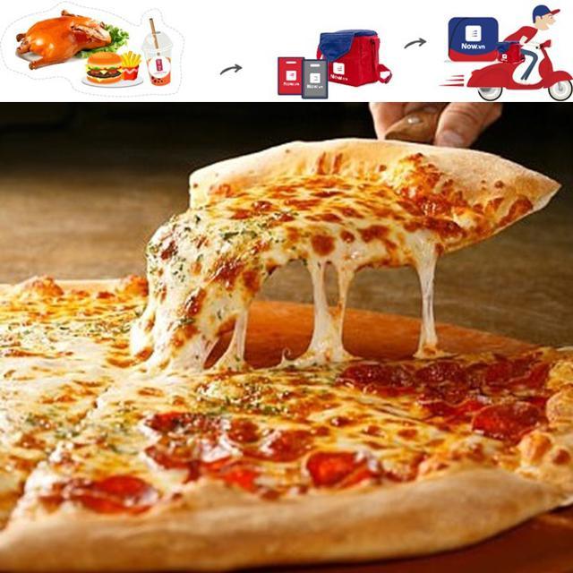 """Toàn Quốc [E-Voucher] NOW - """"Đặt món trực tuyến giao thức ăn tận nơi"""" mệnh giá 50k"""