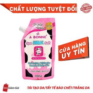 [Freeship] Muối tắm sữa bò tẩy tế bào chết A Bonne Spa Milk Salt Thái Lan 350gr
