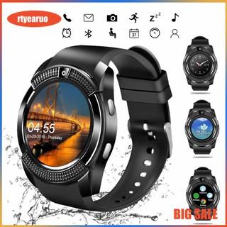 Đồng hồ thông minh SMARTWATCH V8 màn hình cảm ứng có hỗ trợ gắn SIM và thẻ nhớ