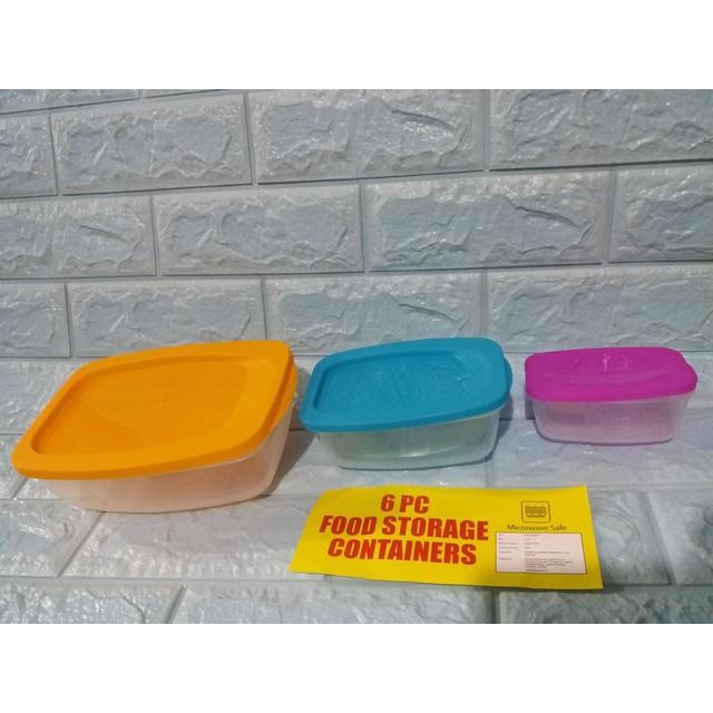 Bộ 3 hộp nhựa Ấn Độ an toàn trong lò vi sóng