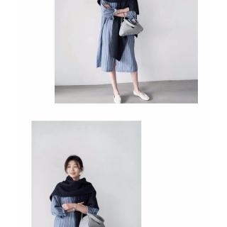 Áo Khoác Dệt Kim Dày Dặn Ấm Áp Thời Trang Hàn Quốc