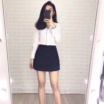 [Mã FAMAYWA giảm 10K đơn 50K] Chân Váy Chữ A Có Quần Trong chất umi