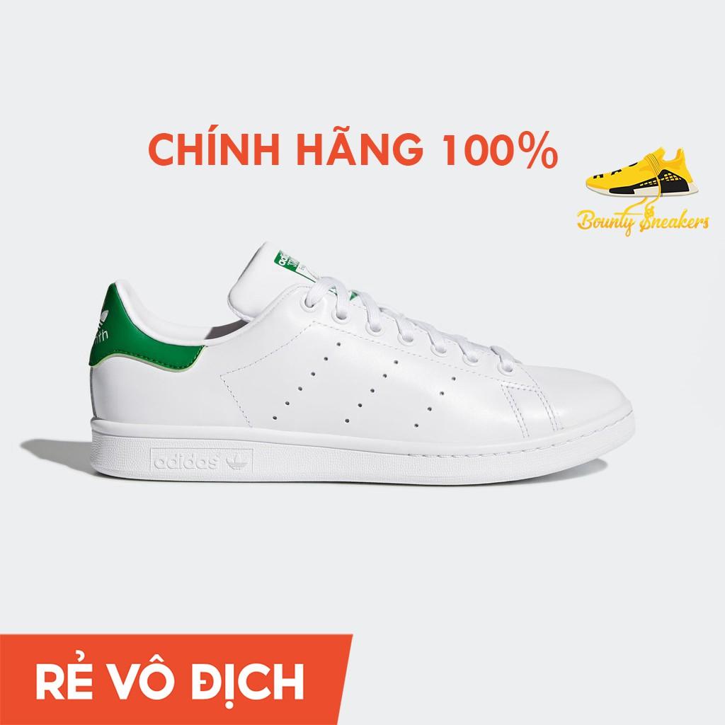 Giày Sneaker Thời Trang Nam Nữ Adidas Stan Smith Trắng Xanh M20324 - Hàng Chính Hãng - Bounty Sneakers
