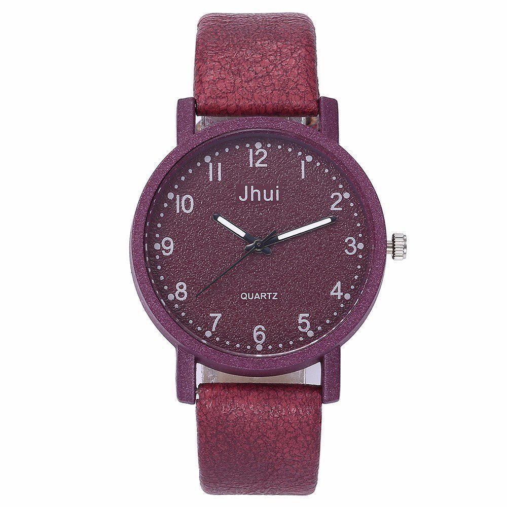 Đồng hồ đeo tay thạch anh thời trang cá tính cho nữ