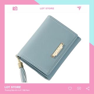 Ví nữ TAOMICMIC mini dễ thương ngắn cầm tay nhiều ngăn nhỏ gọn bỏ túi thời trang cao cấp LOT STORE VD448 thumbnail