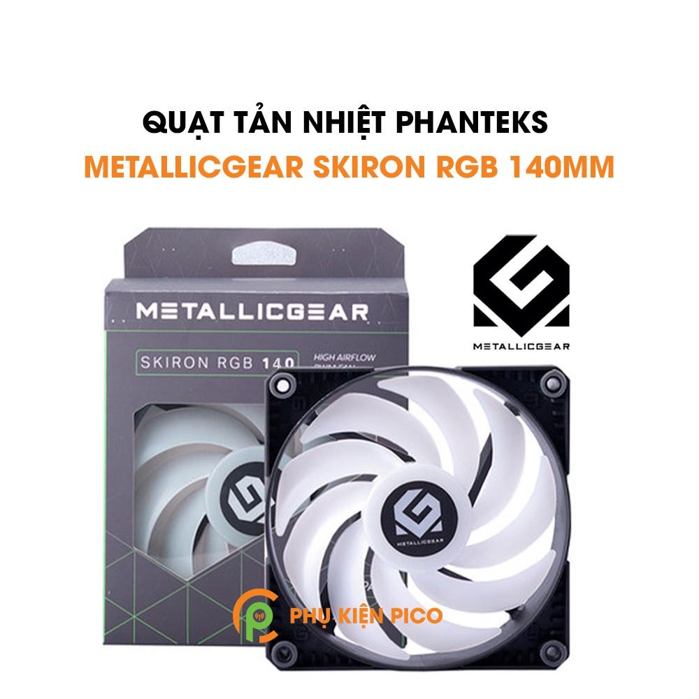 Quạt tản nhiệt case máy tính Phanteks MetallicGear Skiron 140mm - Quạt fan case MetallicGear Skiron 14cm
