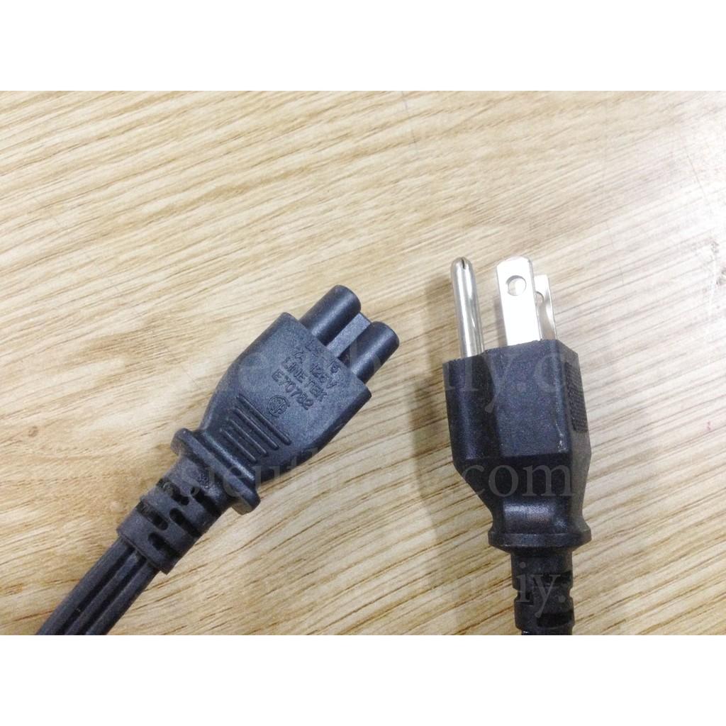 Dây nguồn Linetek 3 lỗ 1.4m cho adapter, sạc laptop