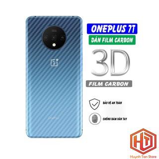 Dán carbon Oneplus 7T chống trầy mặt lưng