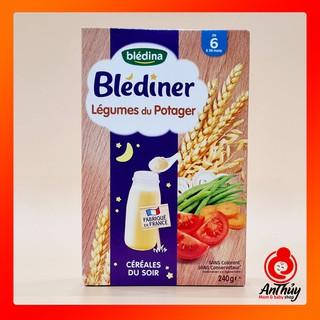 Bột lắc đên Blediner 6+ hộp 210g vị Cà rốt thumbnail