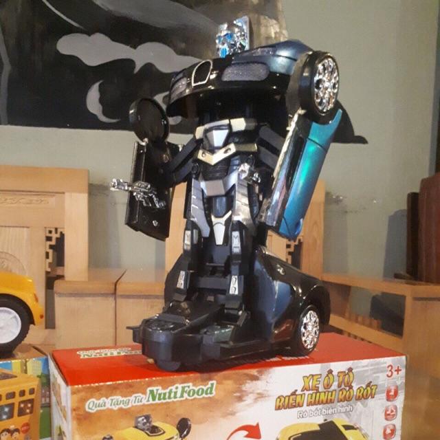Rôbot biến hình - quà từ Nutifood