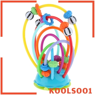 [KOOLSOO1] Rolling Bead Maze Roller Coaster Plastic Games Early Childhood Educational Toy for Children