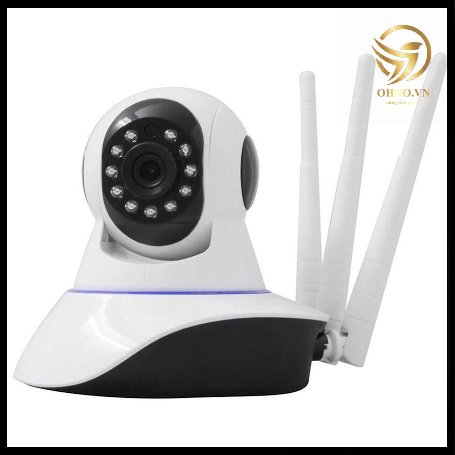 Camera IP Yoosee 3 râu Wifi 1.3 MPX giám sát an ninh chống trộm trong nhà bắt sóng mạnh hình ảnh cực nét - OHNO Việt Nam