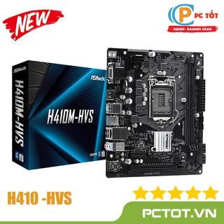 Bo mạch chủ Mainboard ASROCK H410M-HVS (Intel H410, Socket 1200, m-ATX, 2 khe Ram DDR4) - Chính hãng thumbnail