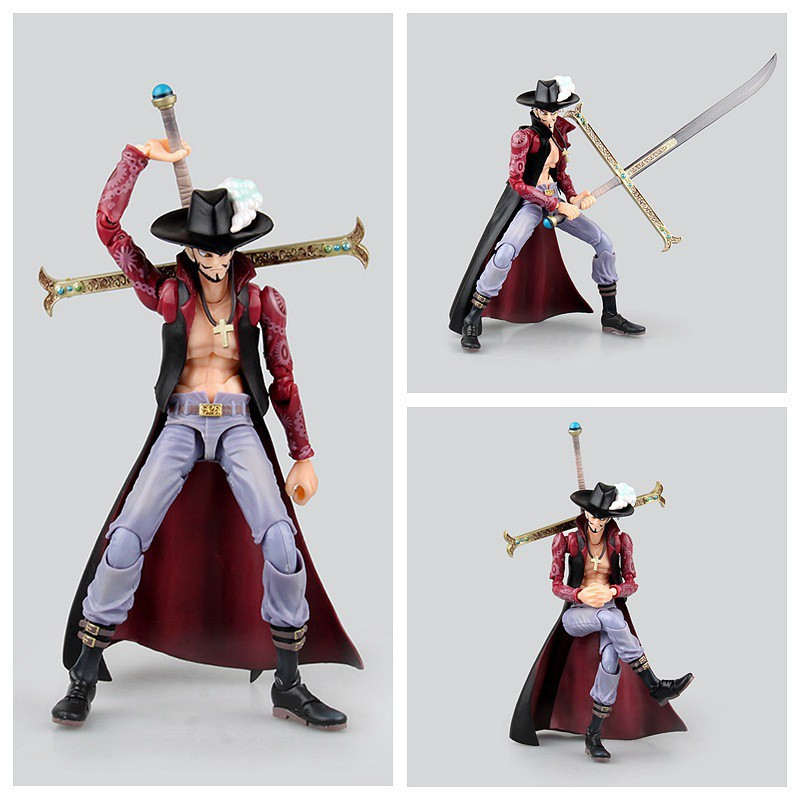 Pirates/Navigation King VAH HEROES Movable Series Seven Wuhai Mihawk/Eagle Eye A