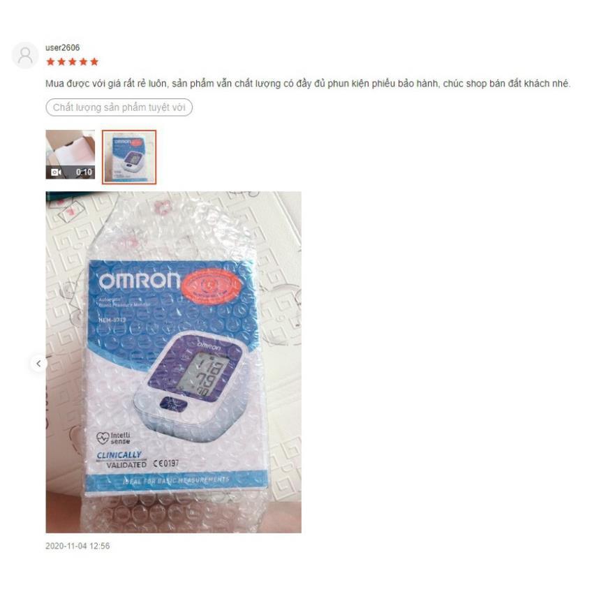 Máy đo huyết áp bắp tay Omron Hem 8712 - MADE IN JAPAN