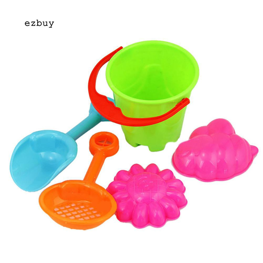 【EY】Outdoor Sandbeach Toys Bucket Shovel Toddler Kids Children Beach Sand Toy Set