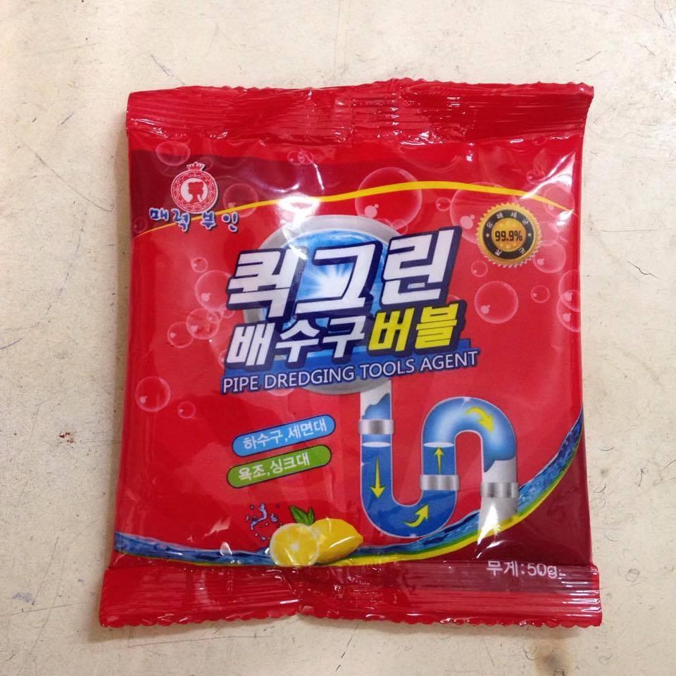 Bột thông tắc vệ sinh , thông cống Hàn Quốc