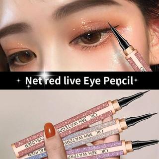 Bút kẻ mắt QIC dạng lỏng nhanh khô chống thấm nước không nhòe màu thumbnail