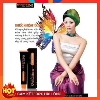 [ Hot sales ] Màu nhuộm cao cấp công nghệ Nano Sophia Golden 100ml - S001 thumbnail