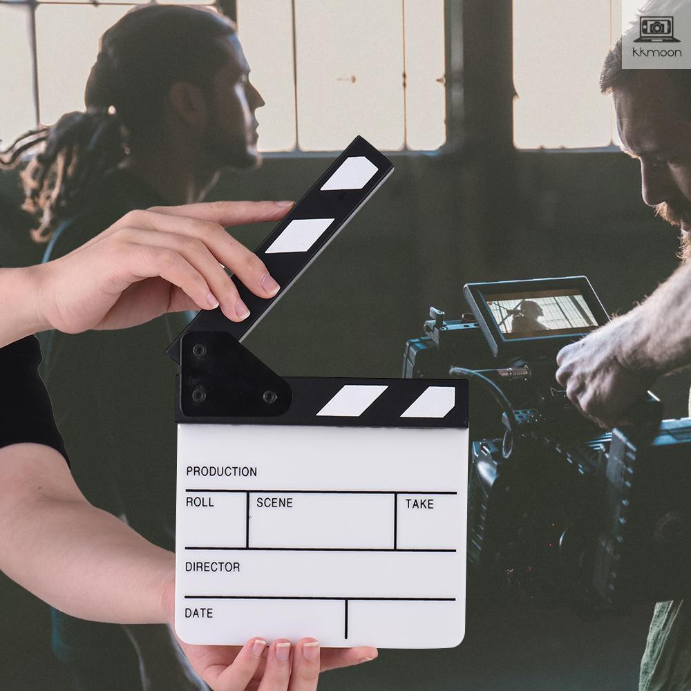 Clapboard phụ kiện quay phim chuyên nghiệp bằng acrylic