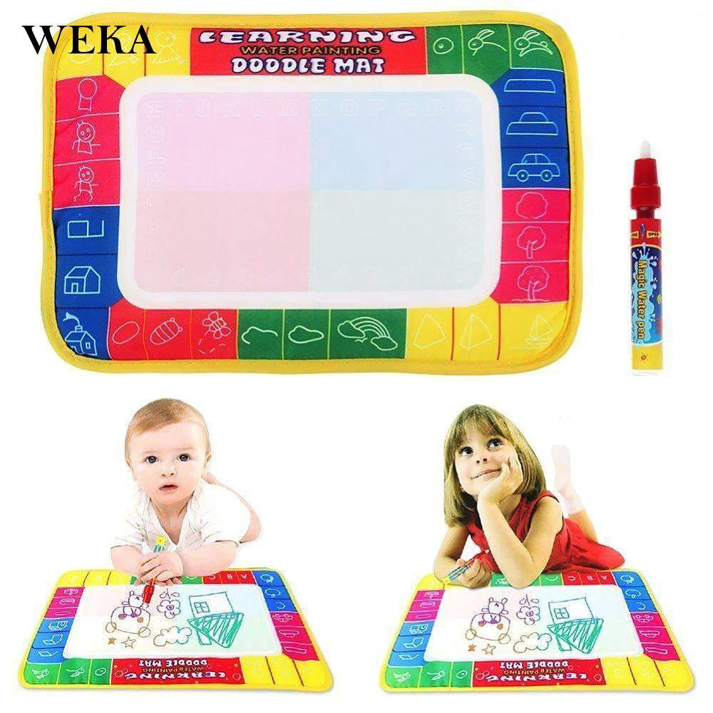 72*48 Children Kids Magic Pen Water Learning Writing Painting Drawing Mat 2019