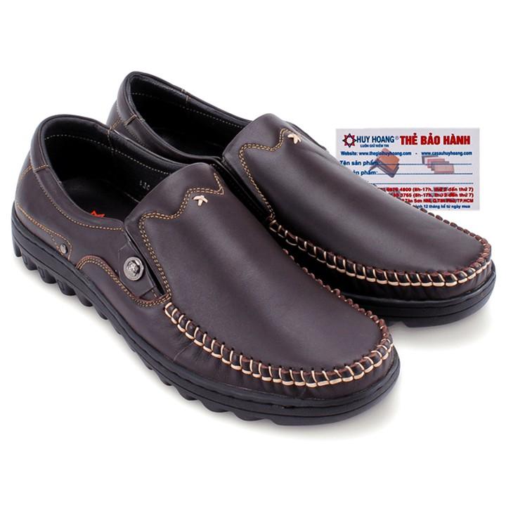 Giày mọi Huy Hoàng viền chỉ nổi màu nâu đậm-HP7190 - 3349445 , 487098142 , 322_487098142 , 909000 , Giay-moi-Huy-Hoang-vien-chi-noi-mau-nau-dam-HP7190-322_487098142 , shopee.vn , Giày mọi Huy Hoàng viền chỉ nổi màu nâu đậm-HP7190