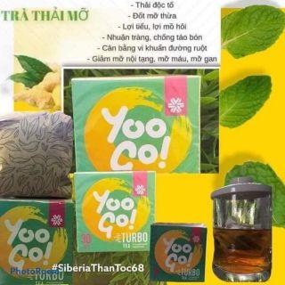 Trà giảm cân thảo mộc YOO GO Turbo - Giảm mỡ - Thanh lọc làm sạch đường tiêu hóa, 100% thảo mộc tự nhiên Siber thumbnail