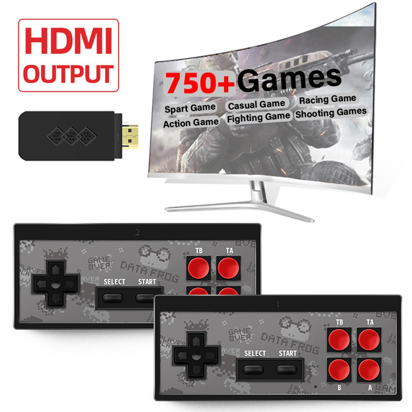 Máy Game Retro Y2S HD 750+ Trò Game Xưa Điện tử Băng Cổ Điển Mini NES/FC Có  Save Load Chính Hãng Data Frog Cắm TV Chơi giá cạnh tranh