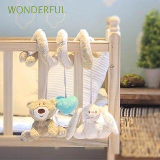 🌼WONDERFUL Infant Lovely New Crib Plush Stroller Hanging Toy Around The Bed
