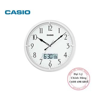 Đồng hồ treo tường Casio IC-01-7DF màu trắng ngọc