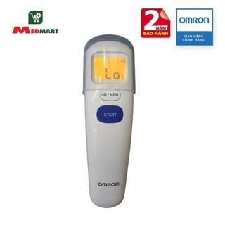 Nhiệt Kế Điện Tử Hồng Ngoại Đo Trán OMRON MC-720, 3 IN 1, Trán, Môi Trường, Nhiệt Độ Bề Mặt – Medmart