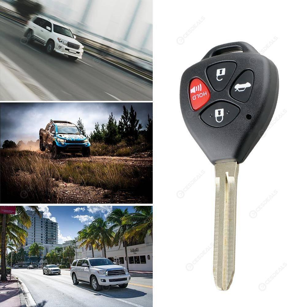 Vỏ Chìa Khóa Xe Toyota 4 nút