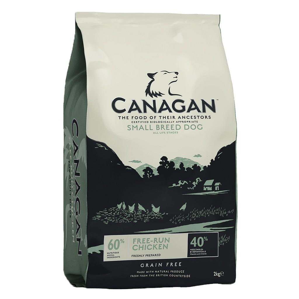Canagan Free-Run Chicken Small Breed Dog คานาแกน ฟรีรัน ไก่ อาหารสุนัขพันธุ์เล็ก(เม็ดเล็ก) (ขนาด 500 กรัม)