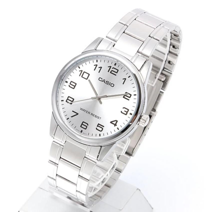 Đồng hồ nam dây kim loại Casio chính hãng Anh Khuê MTP-V001D-7BUDF