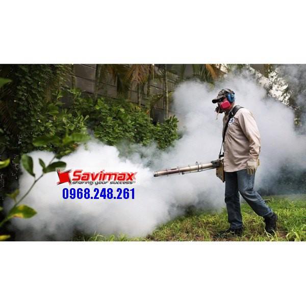 Máy phun khói Hàn Quốc VNPK 150SK phun dung dịch sát khuẩn, diệt côn trùng tại Huyện Cẩm Giàng (Hải Dương)