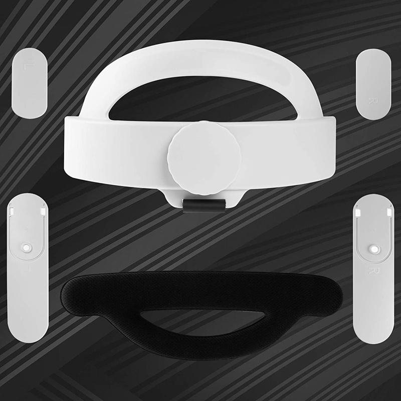 Set 2 Dây Đeo Đầu Vr Cho Oculus Quest