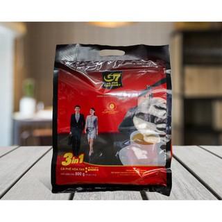 Cà Phê Hoà Tan G7 3in1_Bịch 50 Gói Trung Nguyên