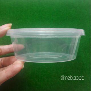 Hộp đựng slime 250 ml (dẹp)
