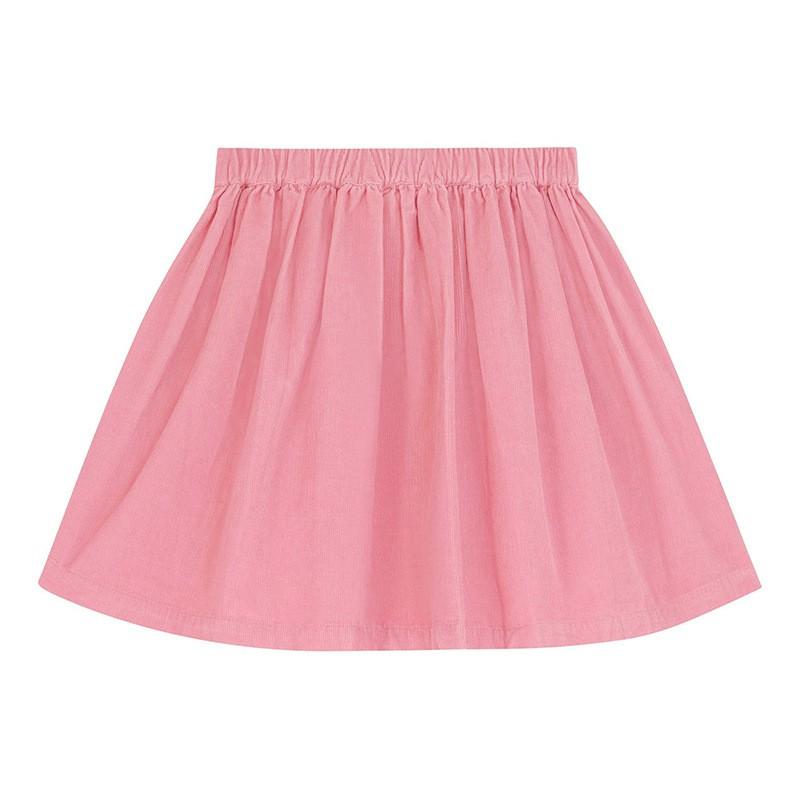 Chân váy bé gái Little Maven thêu hoa siêu xịn đủ size 2-7T
