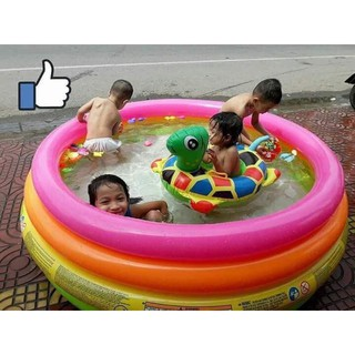 Bể bơi cầu vồng 4 tầng 1m68 INTEX